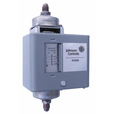 Pressostat eau P74 0...1b - JOHNSON CONTR.E : P74FA-9700