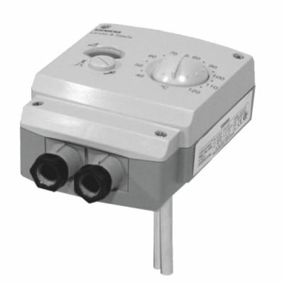 Termostato regolazione/sicurezza 15/95°C/110°C IP40  - SIEMENS : RAZ-ST.030FP-J