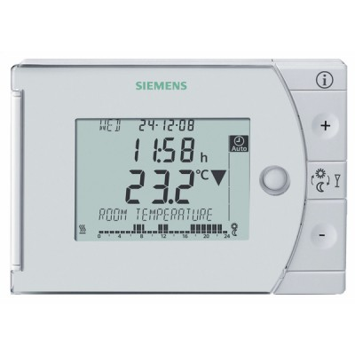 Thermostat hebdomadaire à piles REV24-XA - SIEMENS : REV24-XA