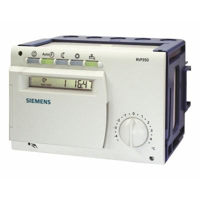 Régulateur chauffage programmable 1 circuit chauffage et ECS - SIEMENS : RVP350