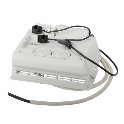 Boitier thermostat complet (2 mol et curs) - ATLANTIC : 087717