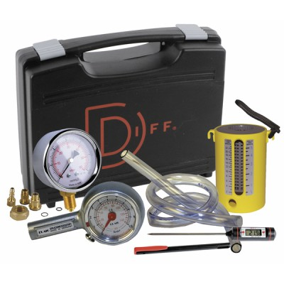 Koffer Gasanwendung Inbetriebnahme Gas  - DIFF