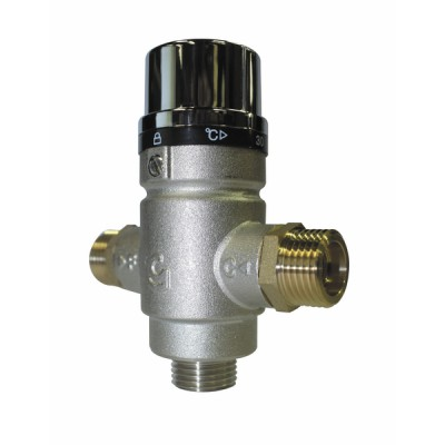 Thermostatic mixing valve 1/2 male - DIFF