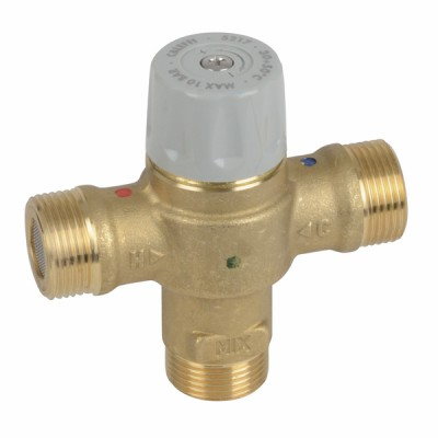 Thermostatic mixing valve 3/4 male - DIFF