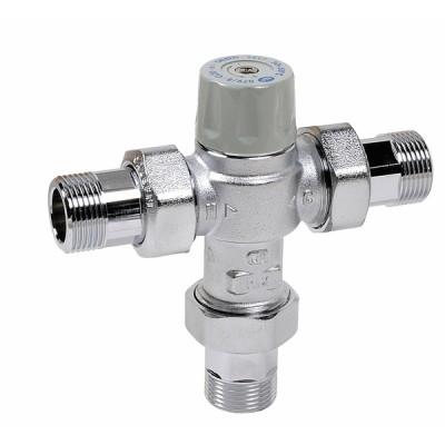 Thermostatmischer Anschluss 3/4M