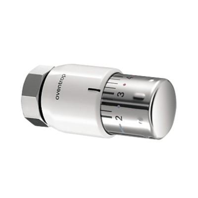 Tête thermostatique UNI SH blanc/chromé (X 10) - OVENTROP : 1012065