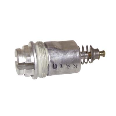 Magnet unit for gas valve magnet unit robertshaw