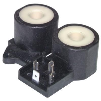 Bobina doppia per valvola gas 0.830 rif 0.967.090 - SIT : 0 967 090