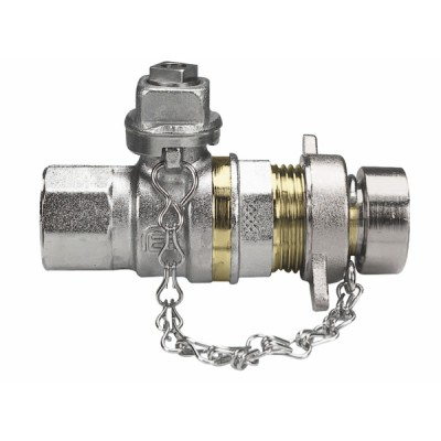 Rubinetto MF con chiave quadrata e tappo 1/2 tappy - EFFEBI SPA : 2156