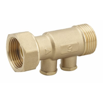 "Brass anti-pollution check valve NF 3/4"" F M short version - DIFF"