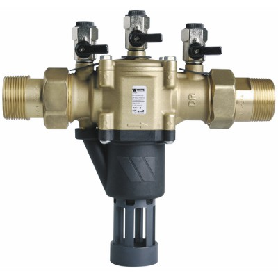 """Backflow preventer controllable reduced pressure zone BA 1 1/4"""" - WATTS INDUSTRIES : 2231450"""
