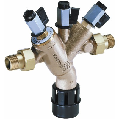 "Controllable backflow preventer reduced pressure zone BA 1/2"" - HONEYWELL : BA295-1/2ZF"