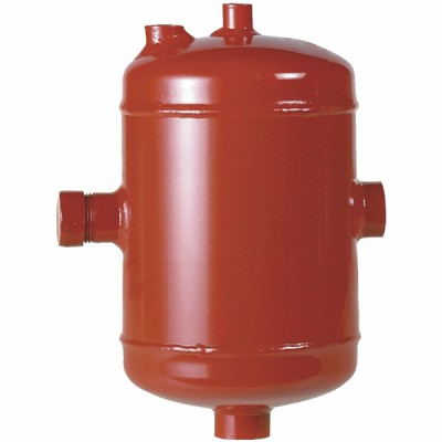 """Steel spill chamber for domestic installations 1 1/4"""""""