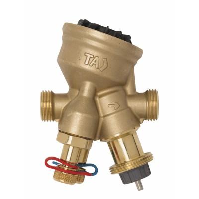 """Vanne ta-compact M1"""" DN 20 débit de 210 à 1150l/h - IMI HYDRONIC : 52164-020"""