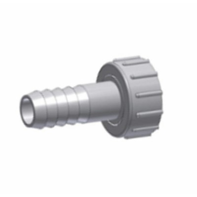 Pair of straight hose connection fittings - RBM : 32870516