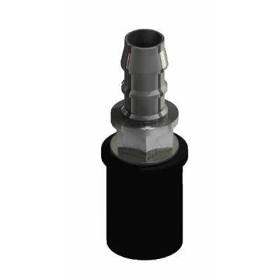 Self sealing drainage fitting Ø 6 mm (X 5) - SAUERMANN INDUS. : ACC00919