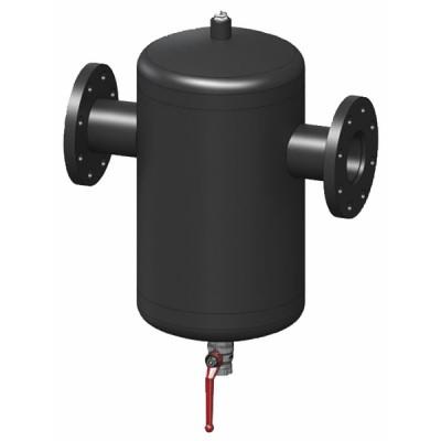 Séparateur particules de boues DIRTERM acier DN50 - RBM : 28290972