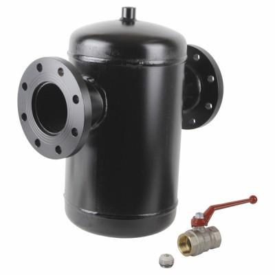 Séparateur particules de boues DIRTERM acier DN80 - RBM : 28291172