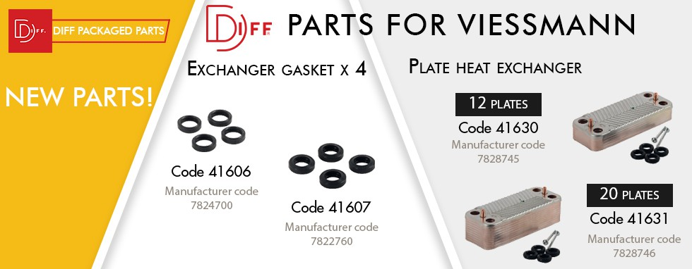 Diff parts for  viessmann