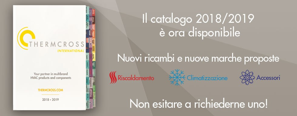Il catalogo 2018/2019 è ora disponibile!